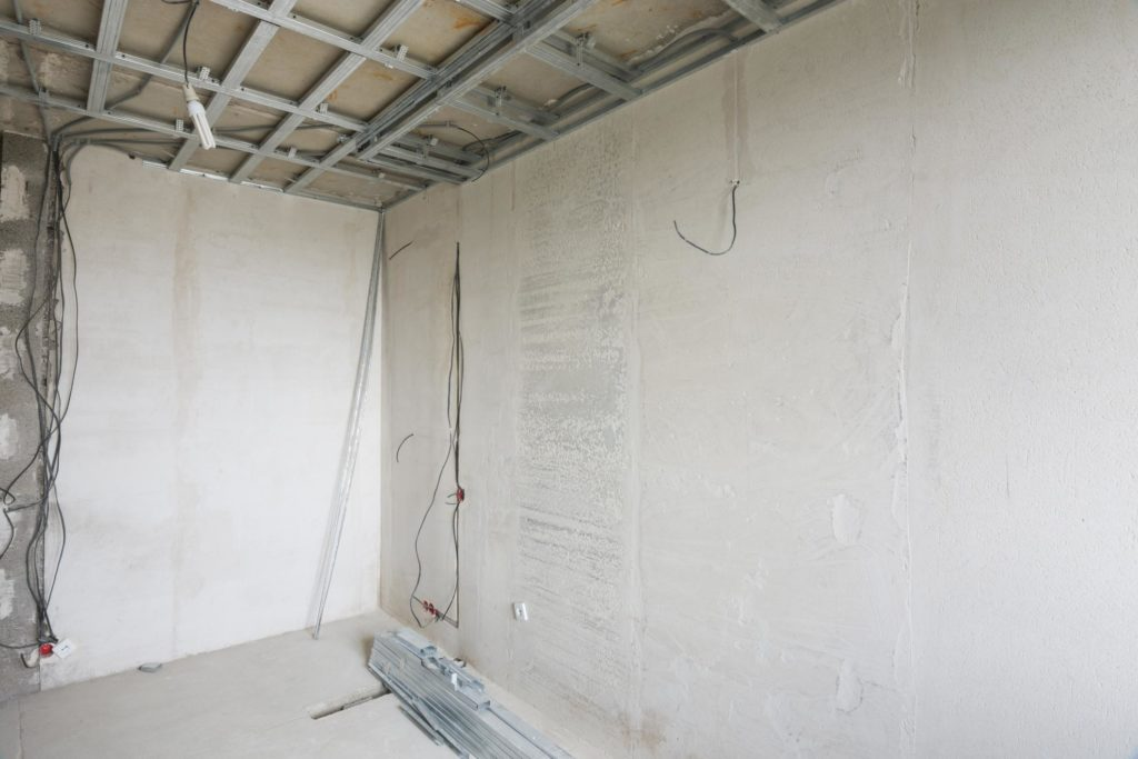 this image shows houstona acoustic ceiling removal