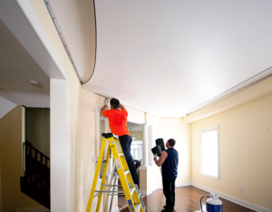 this picture shows our experts doing expert contractor services in houston