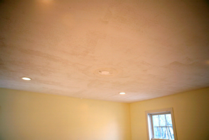 this image shows dry wall ceiling in houston